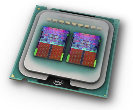 Двухъядерный процессор Intel core 2 Quad